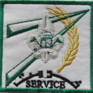 Scout Service Badge